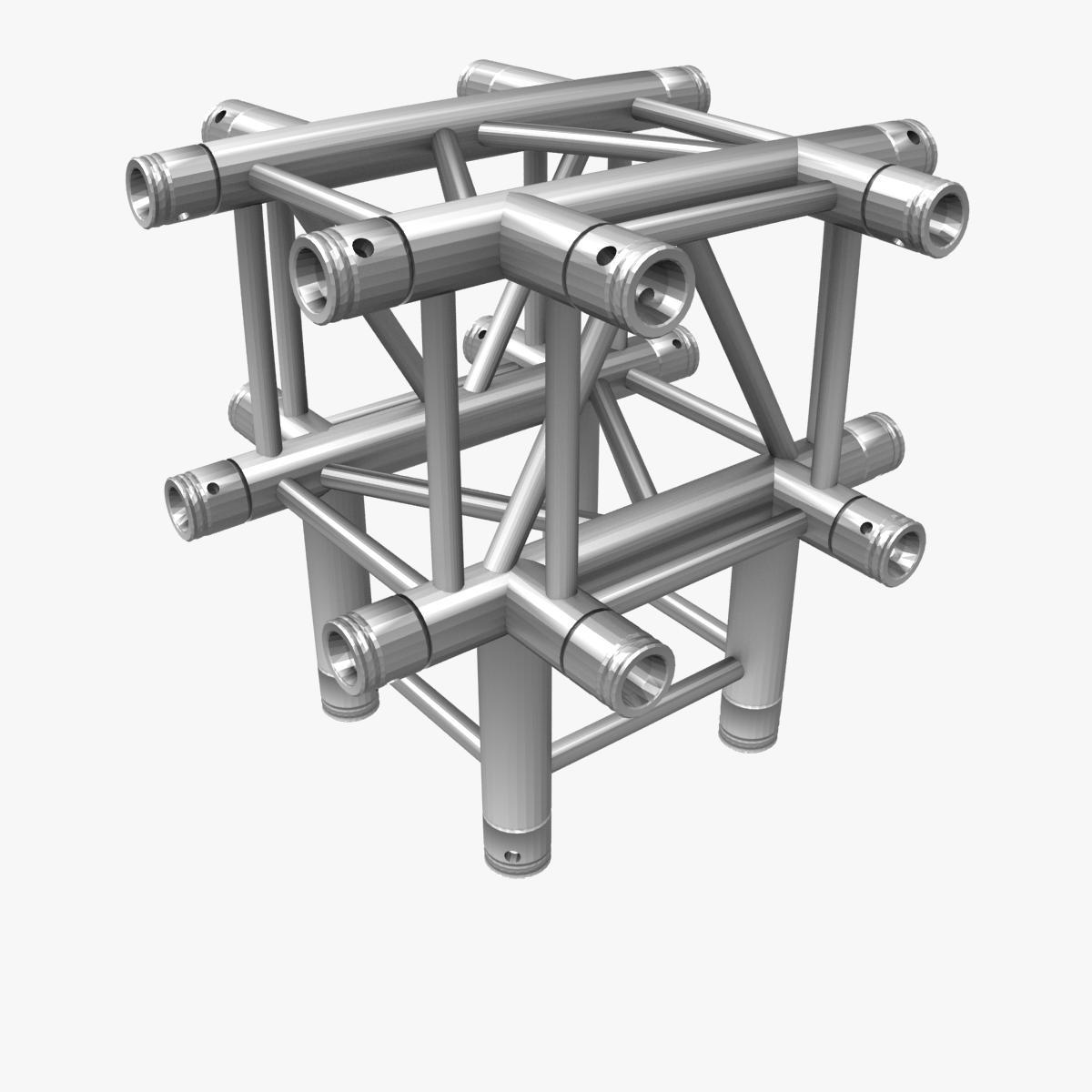 square light trusses (collection 50 modular) 3d model 3ds max dxf fbx c4d dae texture obj 216175
