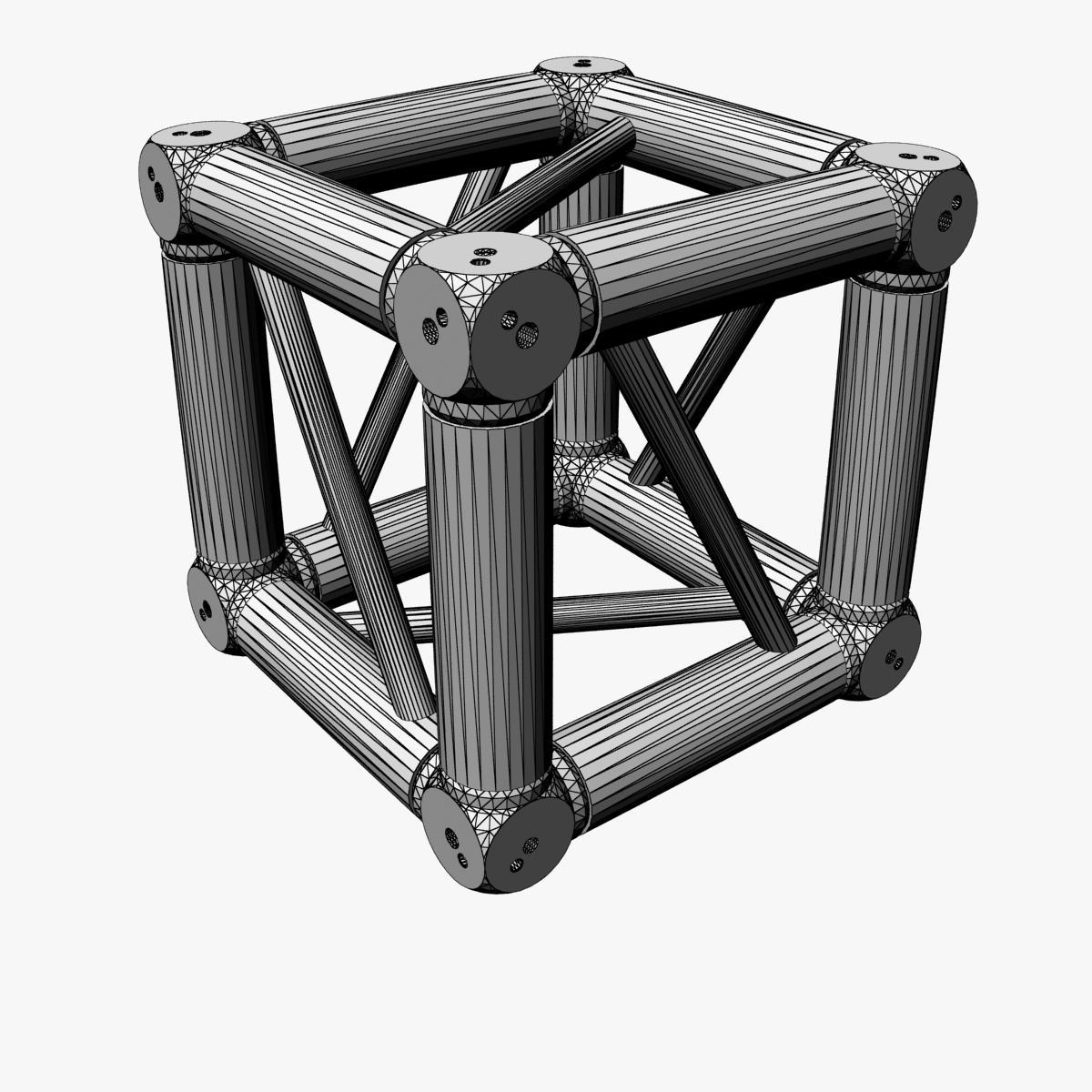 square light trusses (collection 50 modular) 3d model 3ds max dxf fbx c4d dae texture obj 216182