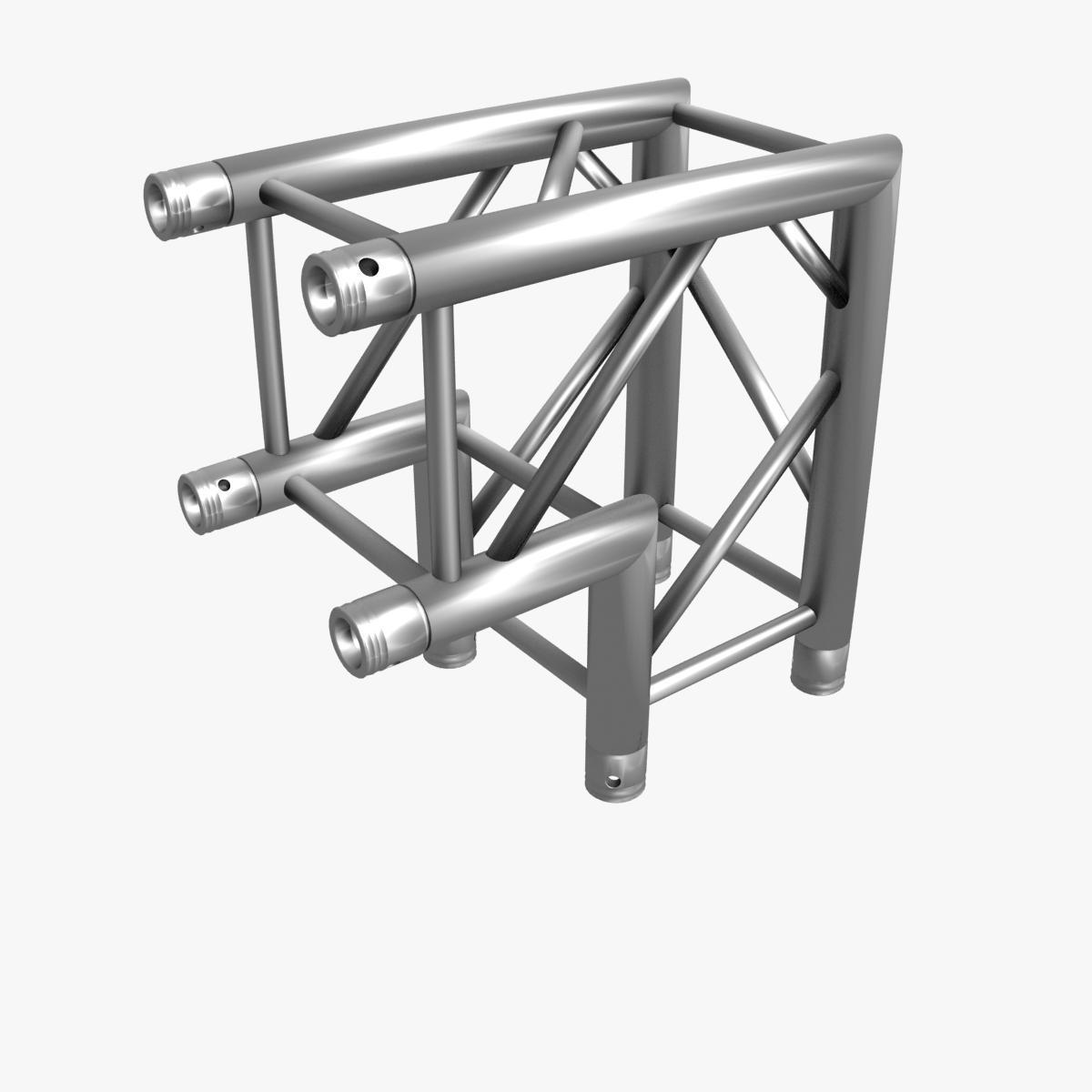 square light trusses (collection 50 modular) 3d model 3ds max dxf fbx c4d dae texture obj 216184