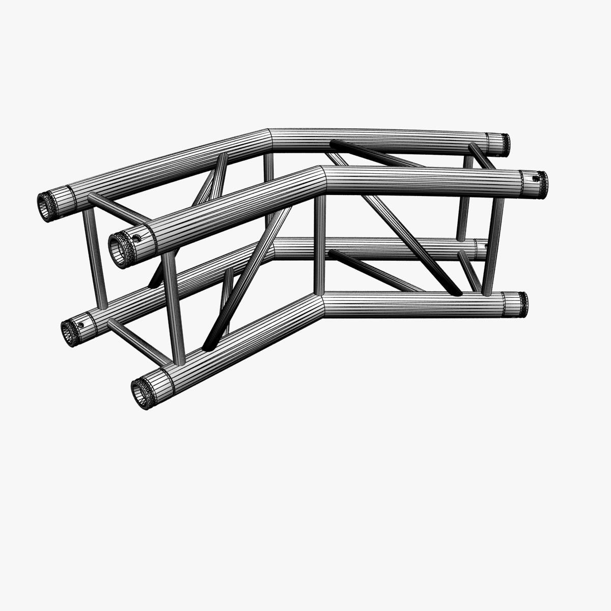 square light trusses (collection 50 modular) 3d model 3ds max dxf fbx c4d dae texture obj 216186