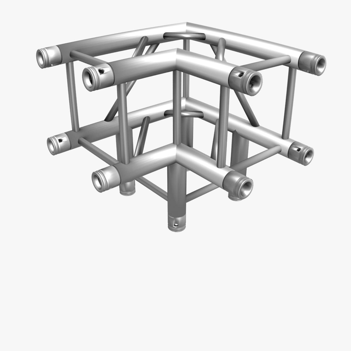 square light trusses (collection 50 modular) 3d model 3ds max dxf fbx c4d dae texture obj 216187