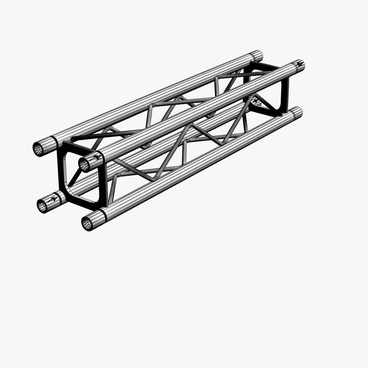 square light trusses (collection 50 modular) 3d model 3ds max dxf fbx c4d dae texture obj 216190