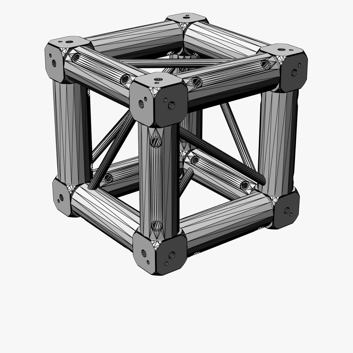 square light trusses (collection 50 modular) 3d model 3ds max dxf fbx c4d dae texture obj 216192