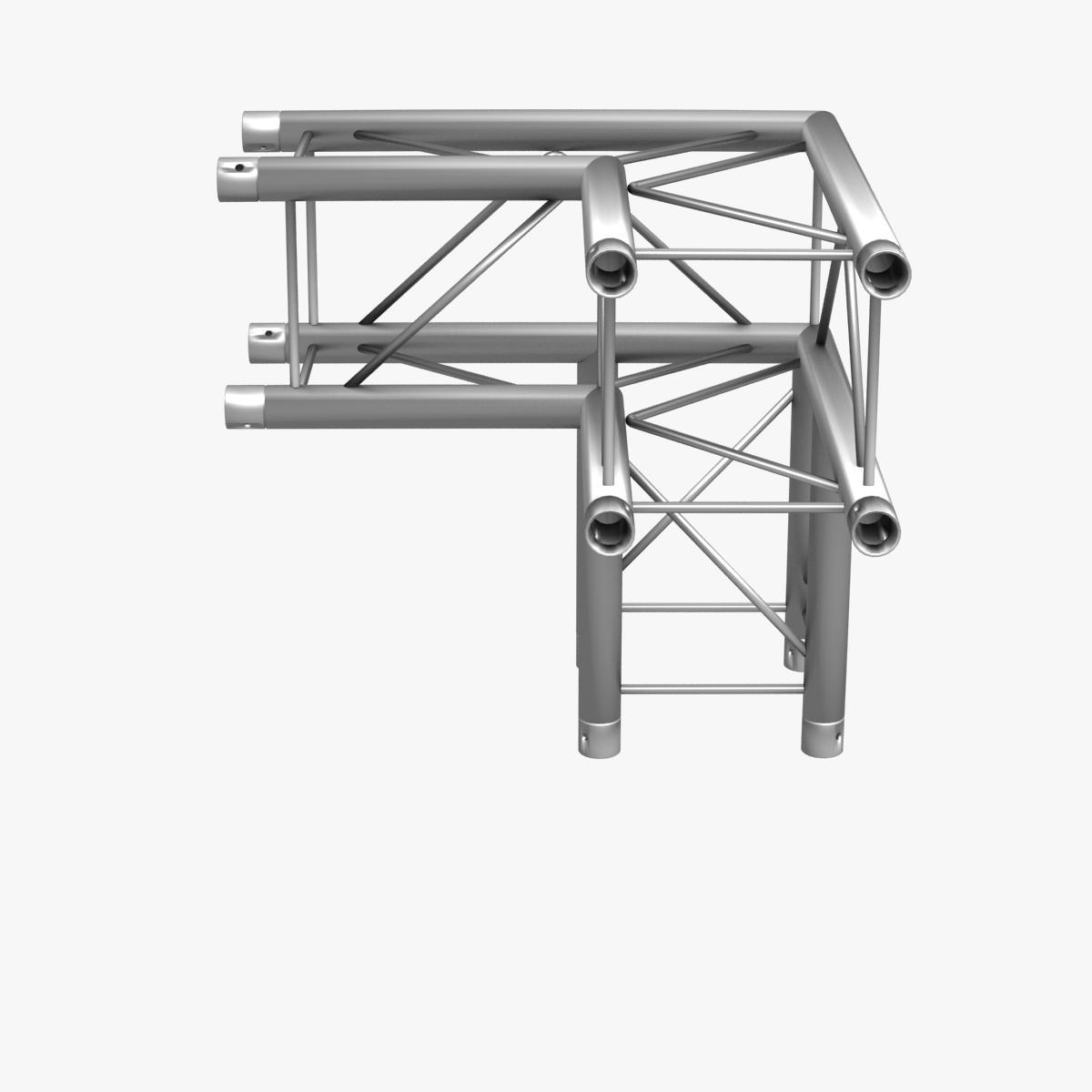 square light trusses (collection 50 modular) 3d model 3ds max dxf fbx c4d dae texture obj 216197