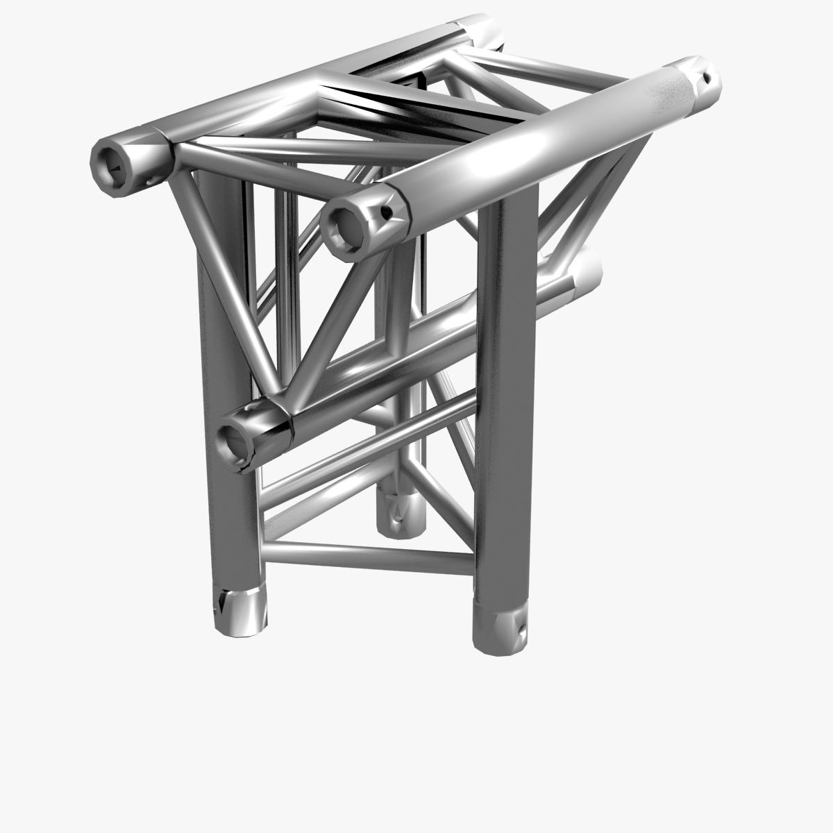 triangular trusses (collection 55 modular pieces) 3d model 3ds max dxf fbx c4d dae texture obj 216217