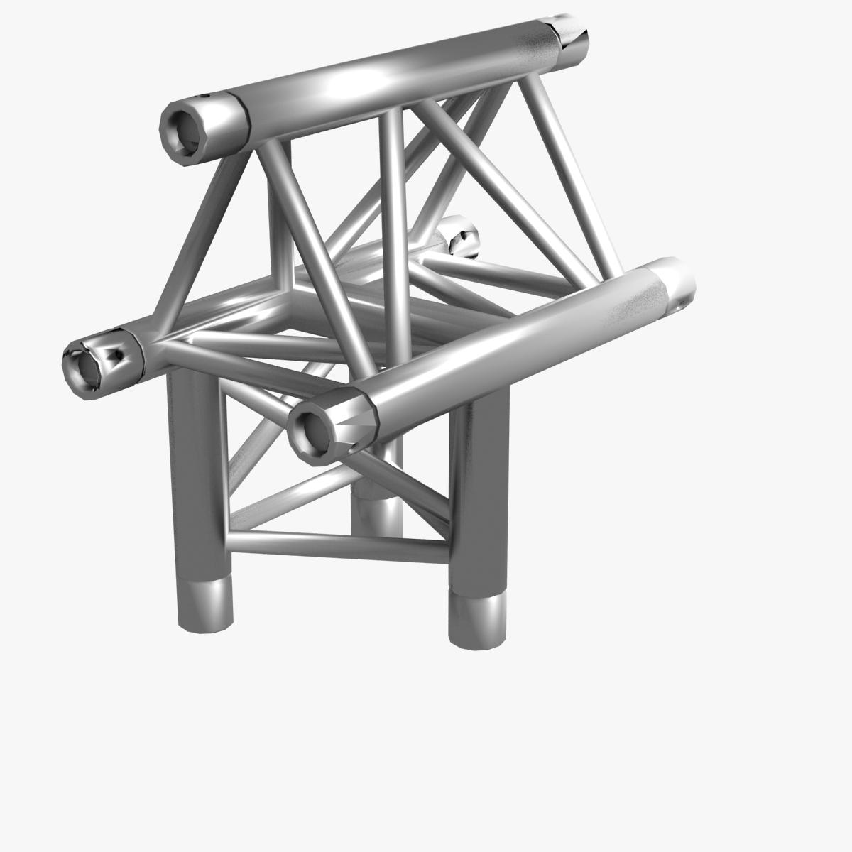 triangular trusses (collection 55 modular pieces) 3d model 3ds max dxf fbx c4d dae texture obj 216218