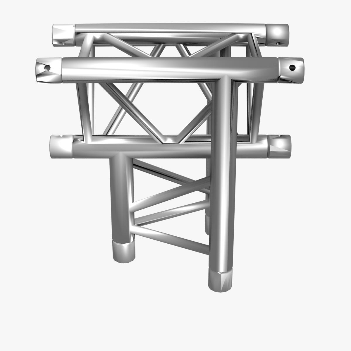 triangular trusses (collection 55 modular pieces) 3d model 3ds max dxf fbx c4d dae texture obj 216221