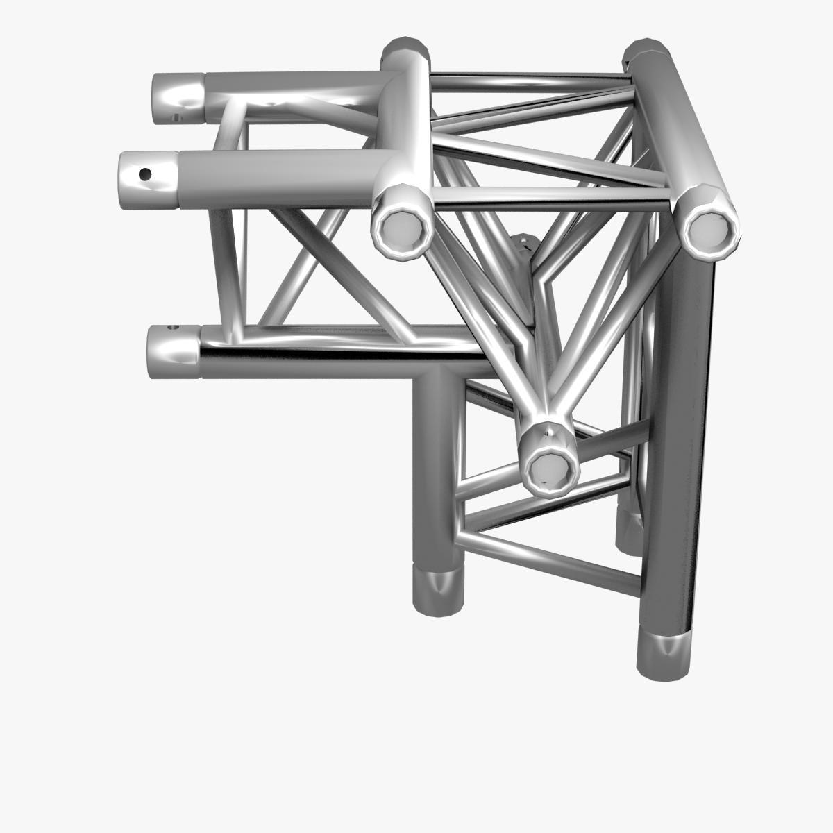 triangular trusses (collection 55 modular pieces) 3d model 3ds max dxf fbx c4d dae texture obj 216223