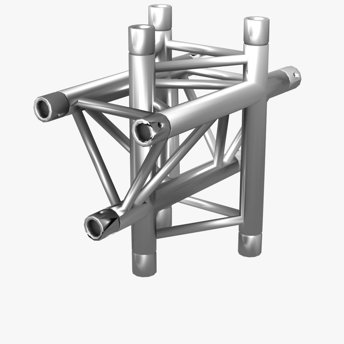 triangular trusses (collection 55 modular pieces) 3d model 3ds max dxf fbx c4d dae texture obj 216225