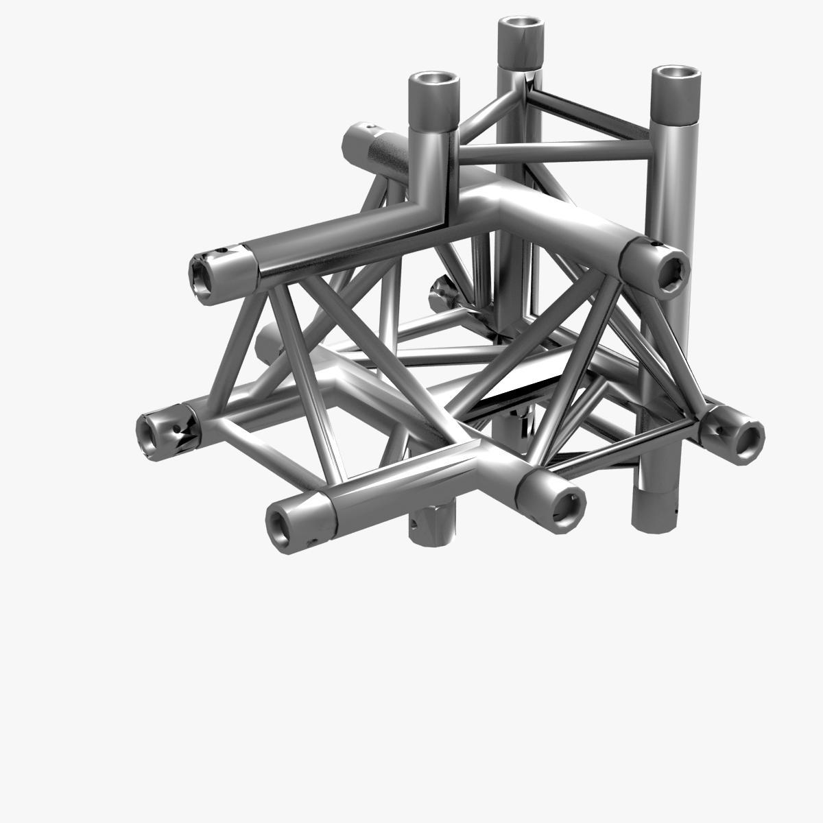 triangular trusses (collection 55 modular pieces) 3d model 3ds max dxf fbx c4d dae texture obj 216227
