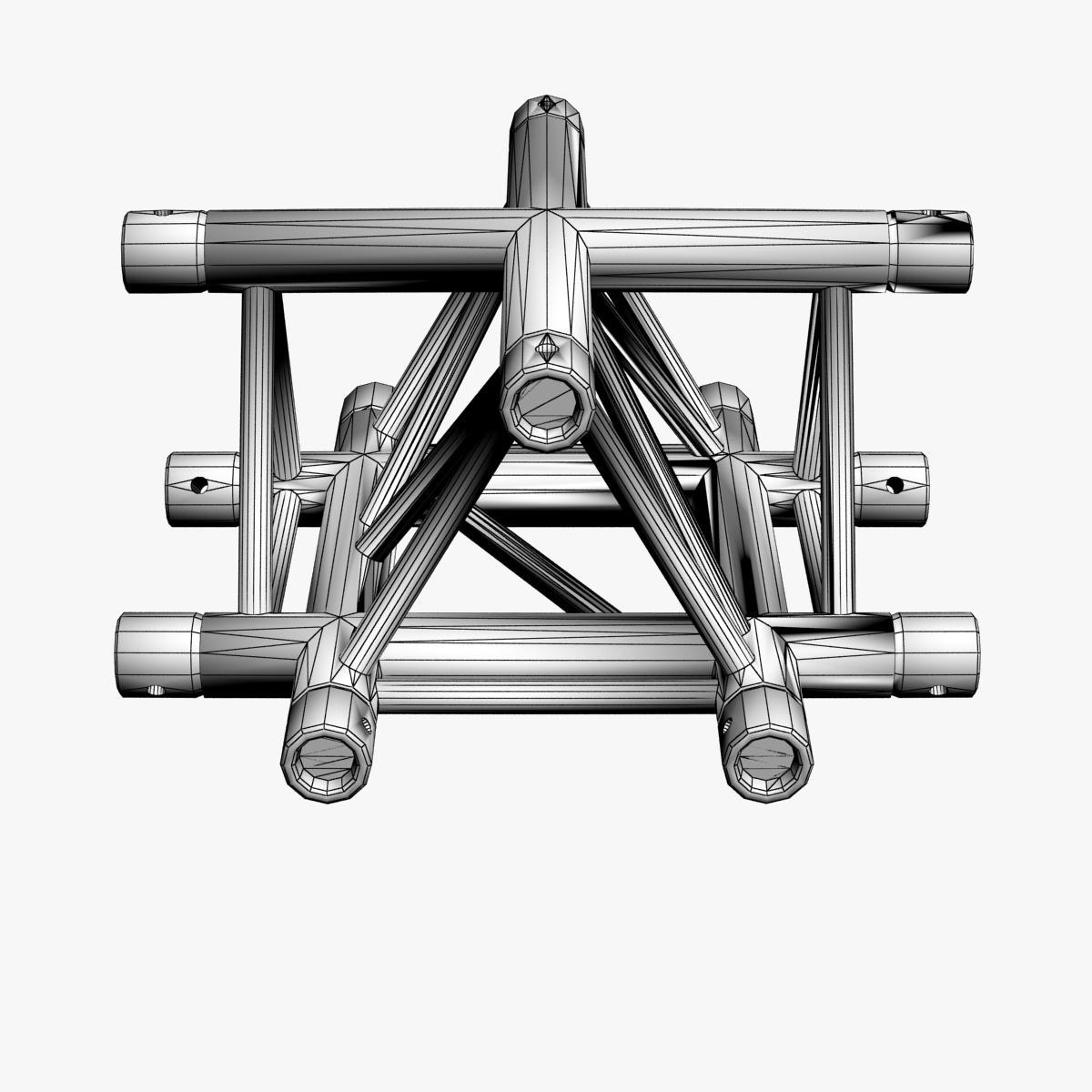 triangular trusses (collection 55 modular pieces) 3d model 3ds max dxf fbx c4d dae texture obj 216228