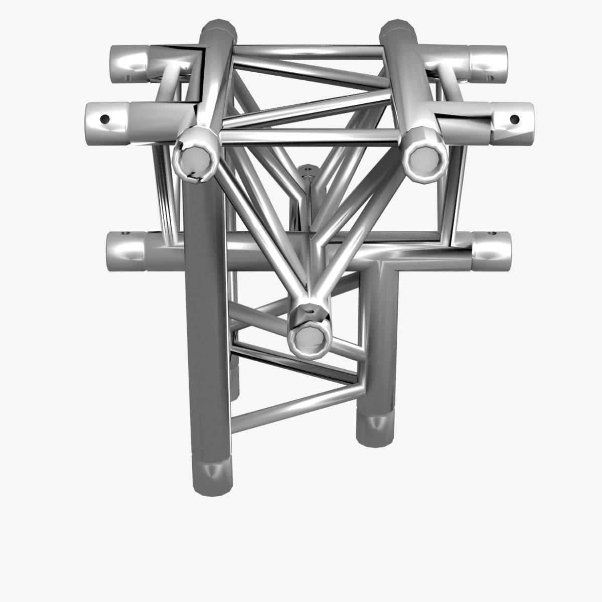 triangular trusses (collection 55 modular pieces) 3d model 3ds max dxf fbx c4d dae texture obj 216229