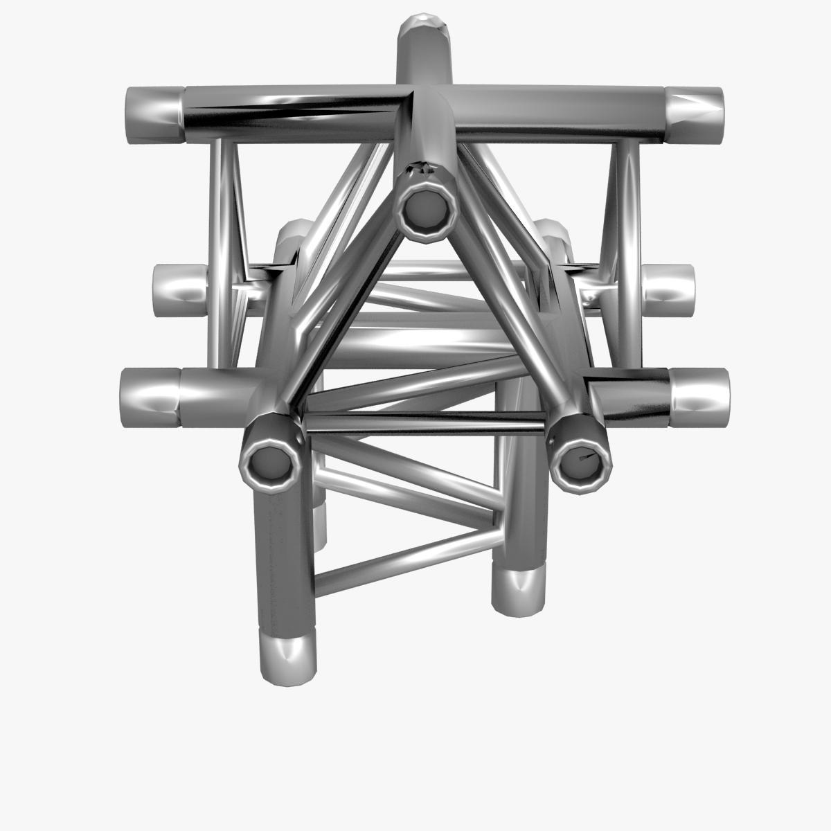 triangular trusses (collection 55 modular pieces) 3d model 3ds max dxf fbx c4d dae texture obj 216230