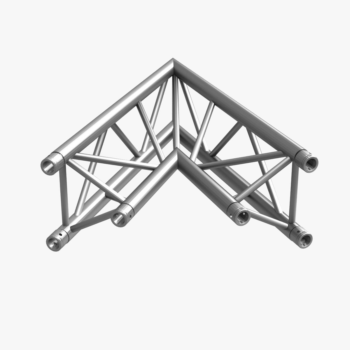 triangular trusses (collection 55 modular pieces) 3d model 3ds max dxf fbx c4d dae texture obj 216231