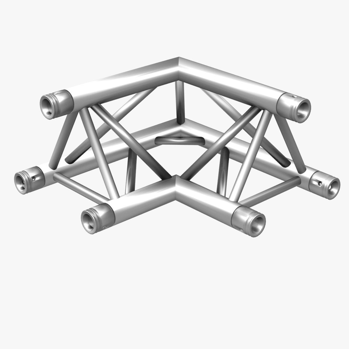 triangular trusses (collection 55 modular pieces) 3d model 3ds max dxf fbx c4d dae texture obj 216234