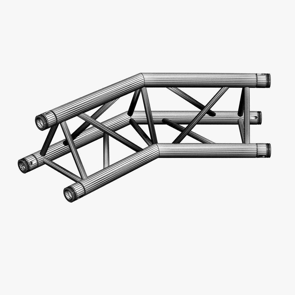 triangular trusses (collection 55 modular pieces) 3d model 3ds max dxf fbx c4d dae texture obj 216236