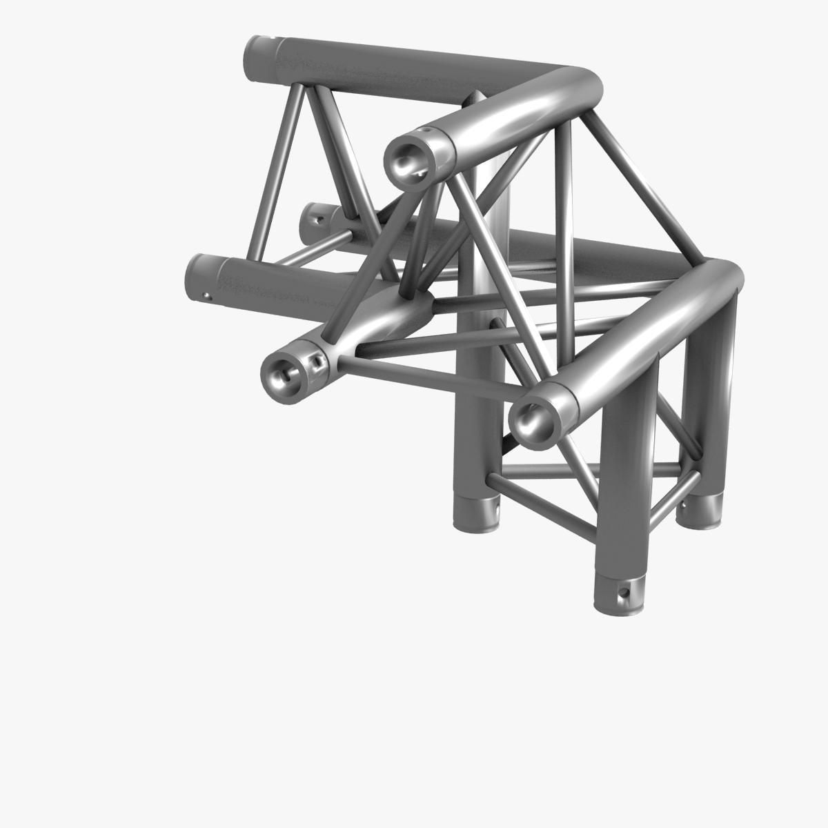 triangular trusses (collection 55 modular pieces) 3d model 3ds max dxf fbx c4d dae texture obj 216237