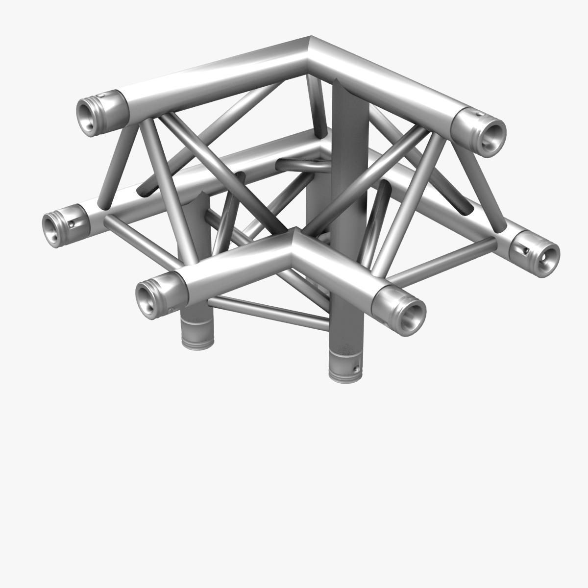 triangular trusses (collection 55 modular pieces) 3d model 3ds max dxf fbx c4d dae texture obj 216238