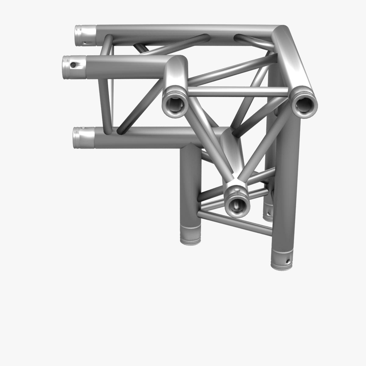 triangular trusses (collection 55 modular pieces) 3d model 3ds max dxf fbx c4d dae texture obj 216239