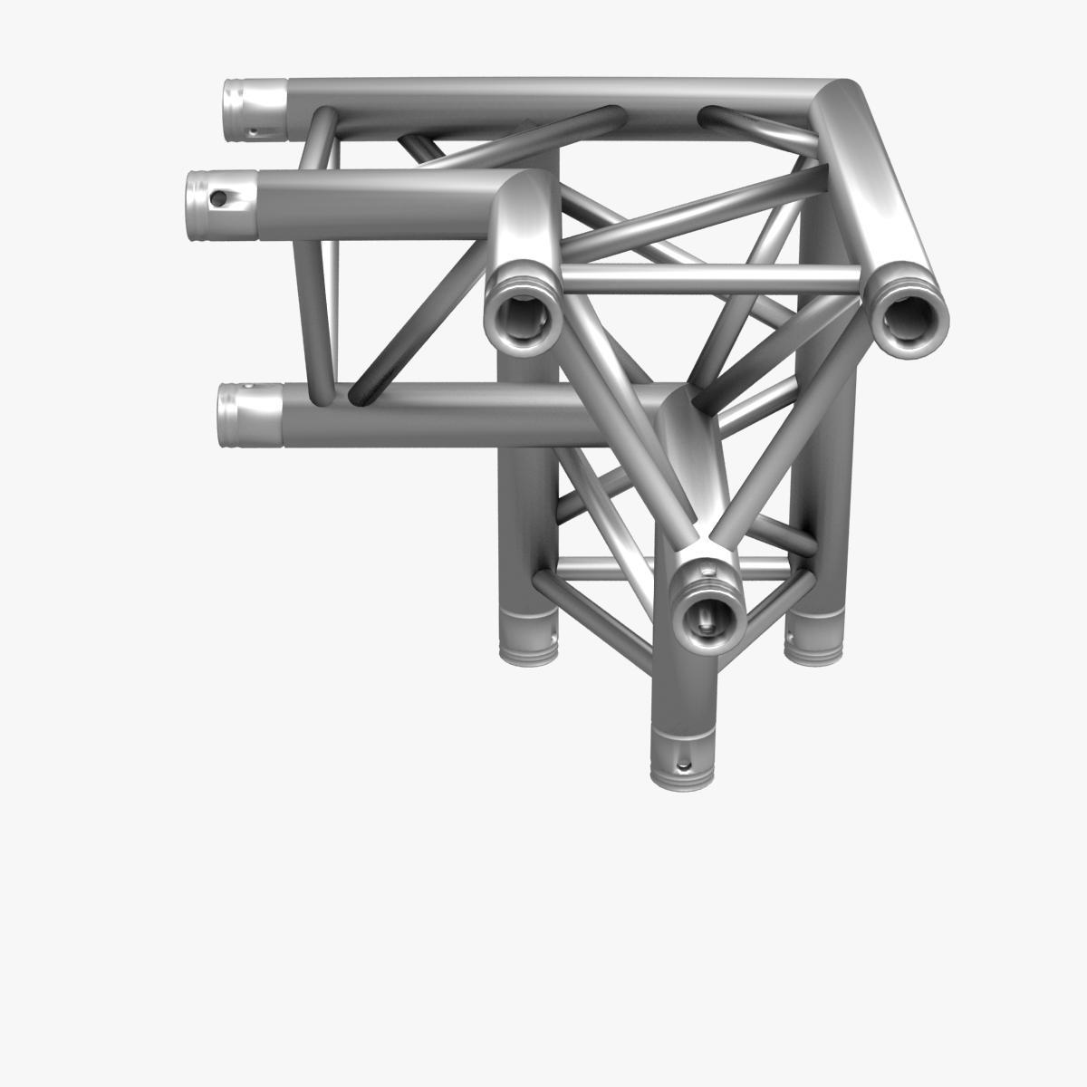 triangular trusses (collection 55 modular pieces) 3d model 3ds max dxf fbx c4d dae texture obj 216240