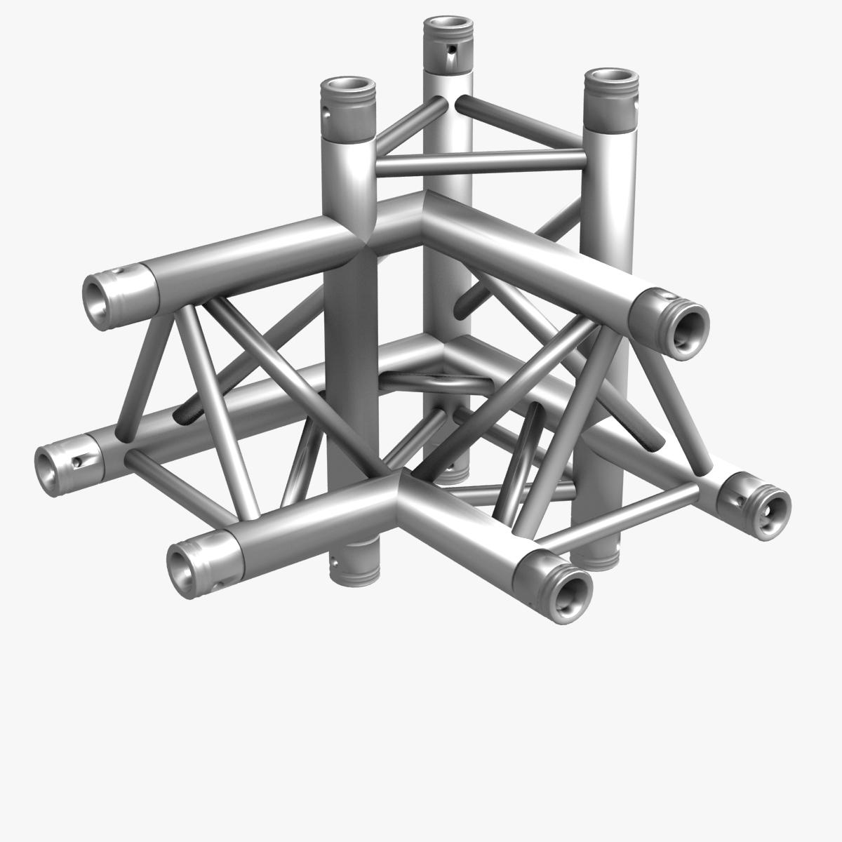 triangular trusses (collection 55 modular pieces) 3d model 3ds max dxf fbx c4d dae texture obj 216241