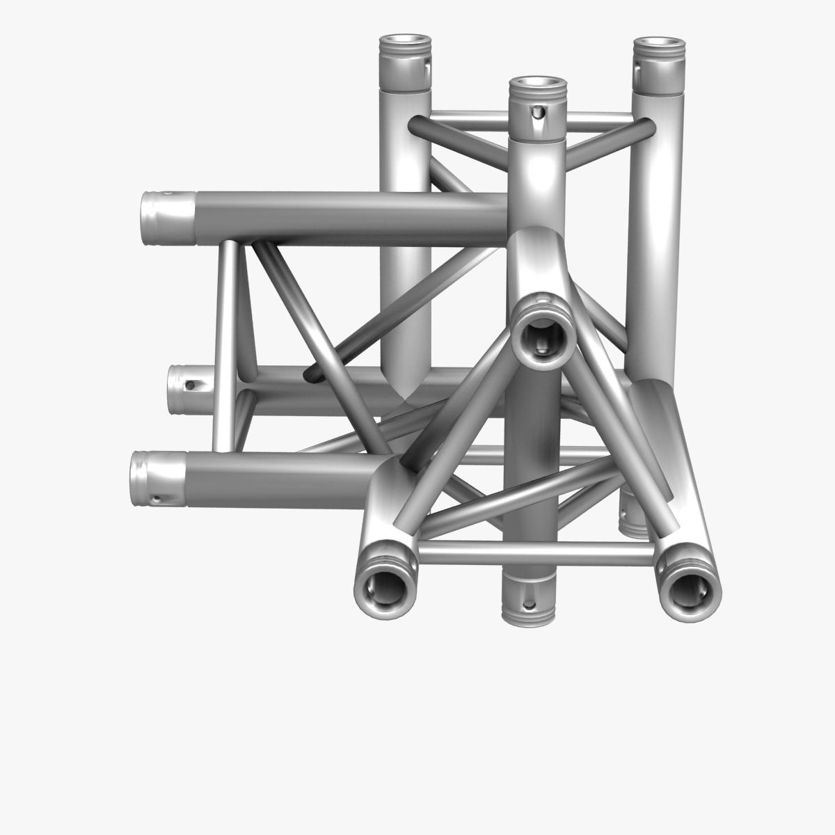 triangular trusses (collection 55 modular pieces) 3d model 3ds max dxf fbx c4d dae texture obj 216242