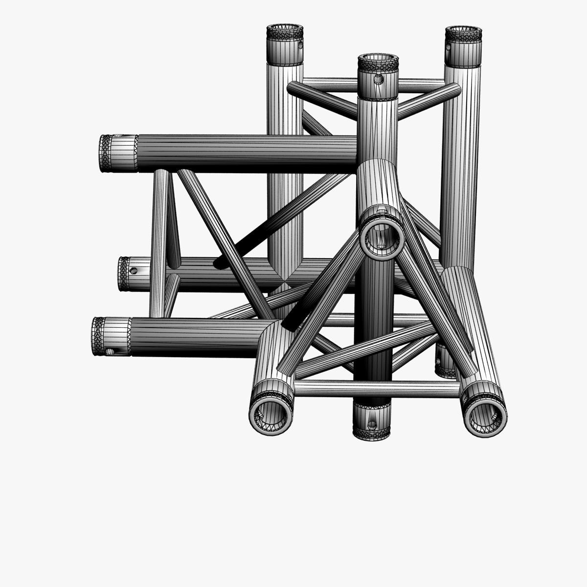 triangular trusses (collection 55 modular pieces) 3d model 3ds max dxf fbx c4d dae texture obj 216243