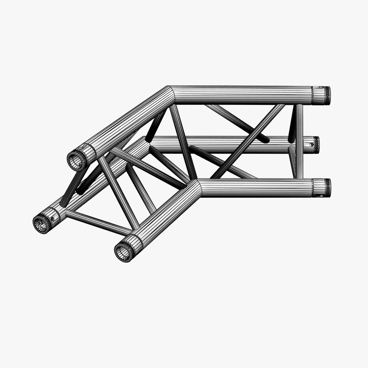 triangular trusses (collection 55 modular pieces) 3d model 3ds max dxf fbx c4d dae texture obj 216245