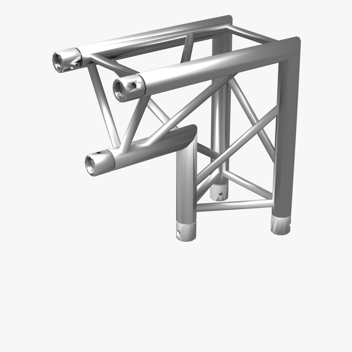 triangular trusses (collection 55 modular pieces) 3d model 3ds max dxf fbx c4d dae texture obj 216246