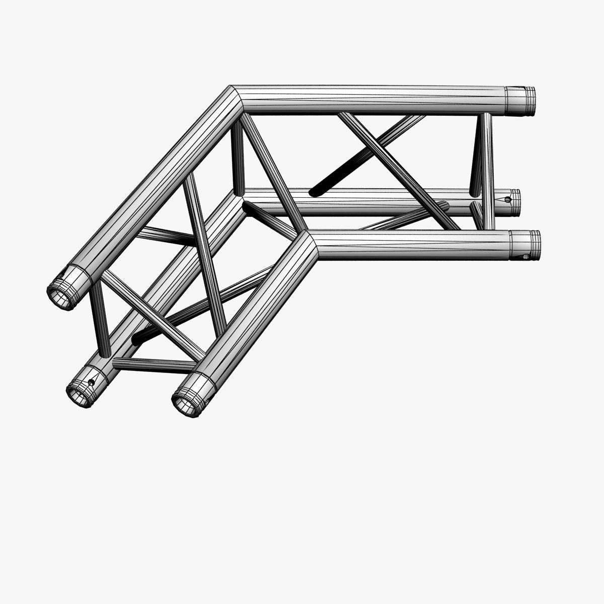 triangular trusses (collection 55 modular pieces) 3d model 3ds max dxf fbx c4d dae texture obj 216248