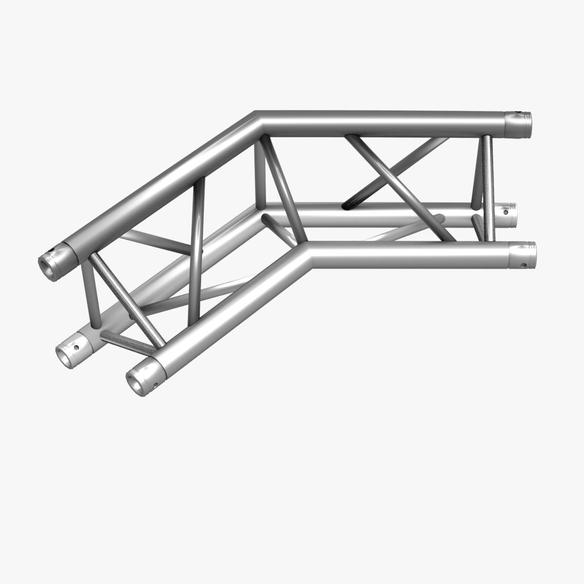 triangular trusses (collection 55 modular pieces) 3d model 3ds max dxf fbx c4d dae texture obj 216249