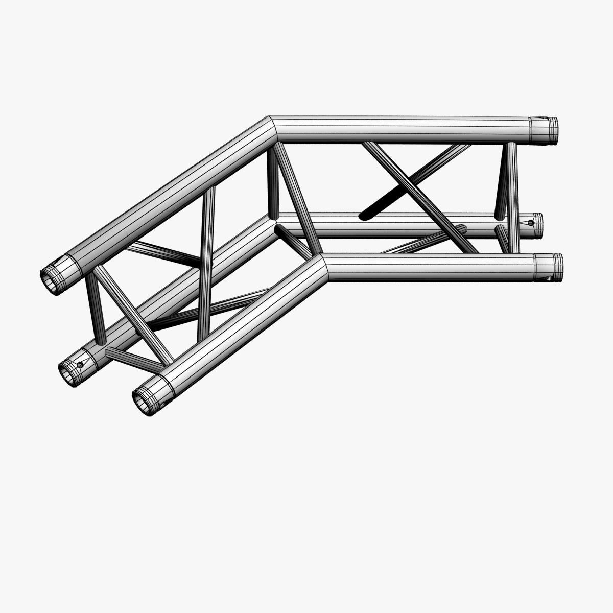 triangular trusses (collection 55 modular pieces) 3d model 3ds max dxf fbx c4d dae texture obj 216250