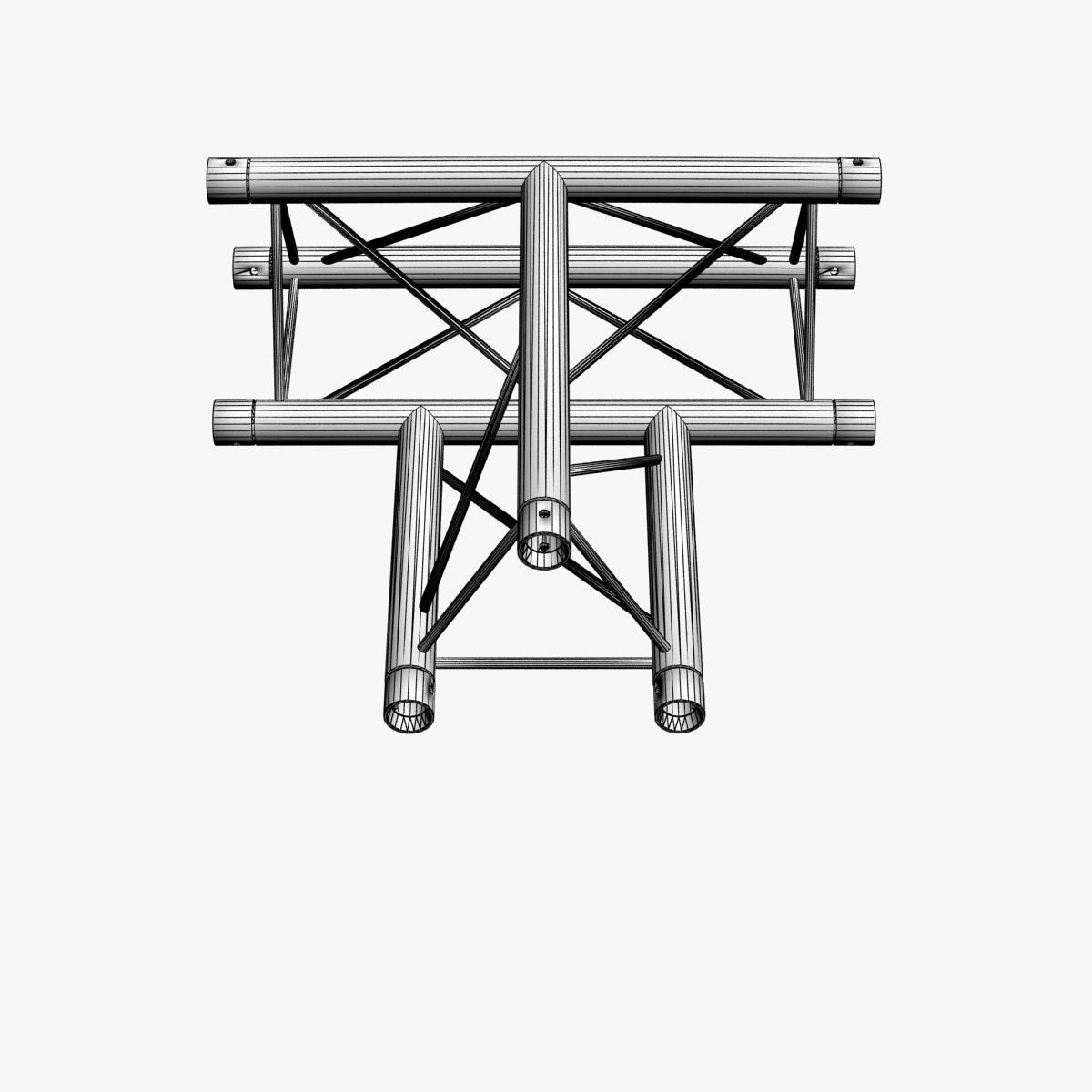 triangular trusses (collection 55 modular pieces) 3d model 3ds max dxf fbx c4d dae texture obj 216256