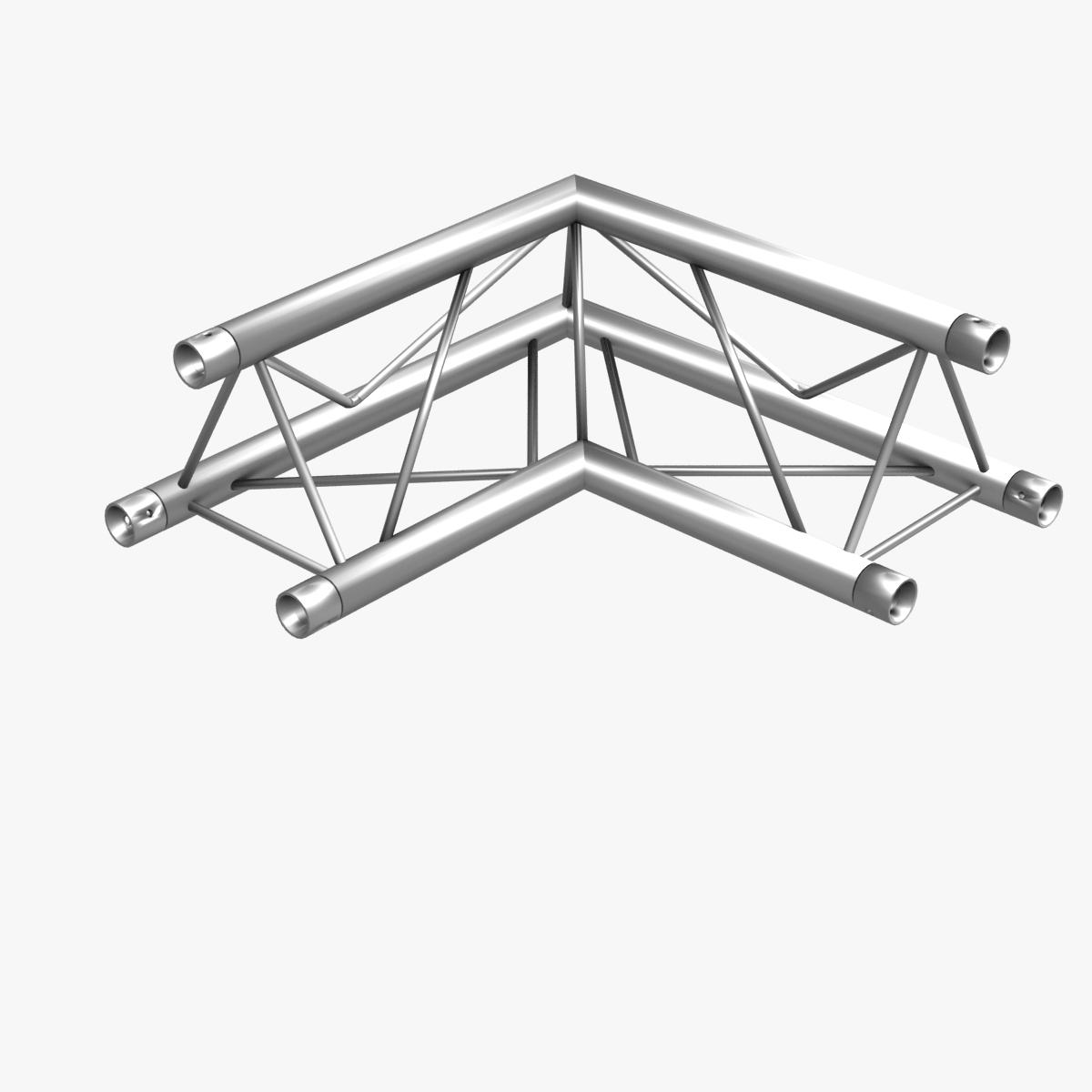 Triangular trusses collection 55 modular pieces 3d model for Buy trusses