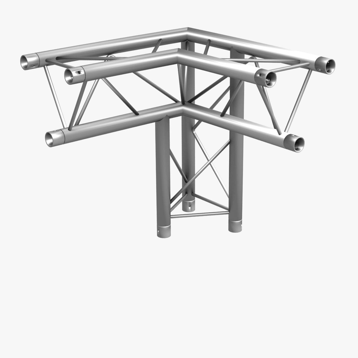 triangular trusses (collection 55 modular pieces) 3d model 3ds max dxf fbx c4d dae texture obj 216259