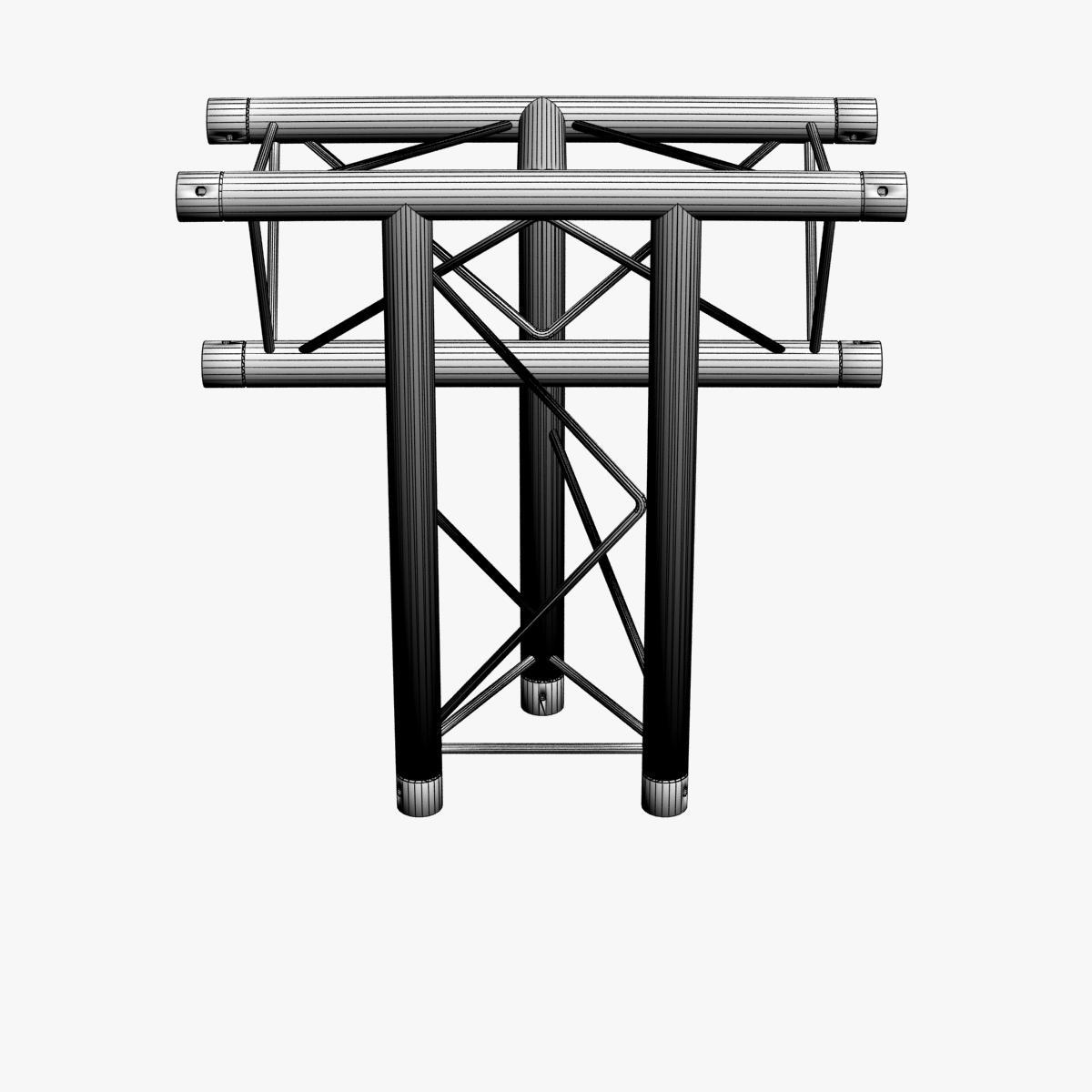 triangular trusses (collection 55 modular pieces) 3d model 3ds max dxf fbx c4d dae texture obj 216262