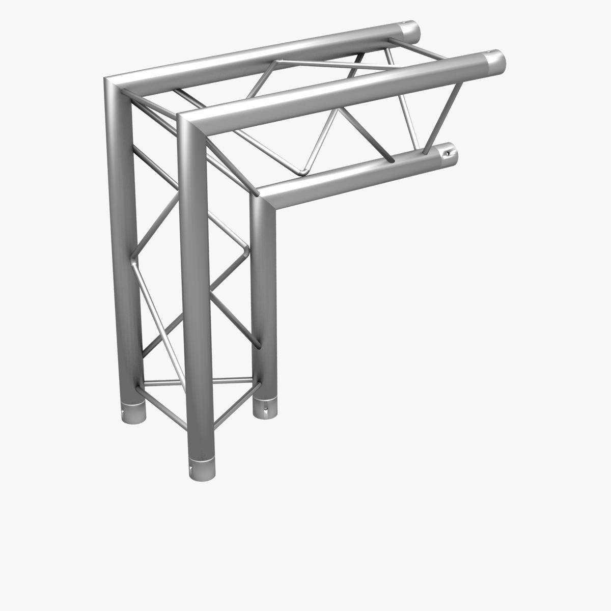 triangular trusses (collection 55 modular pieces) 3d model 3ds max dxf fbx c4d dae texture obj 216263