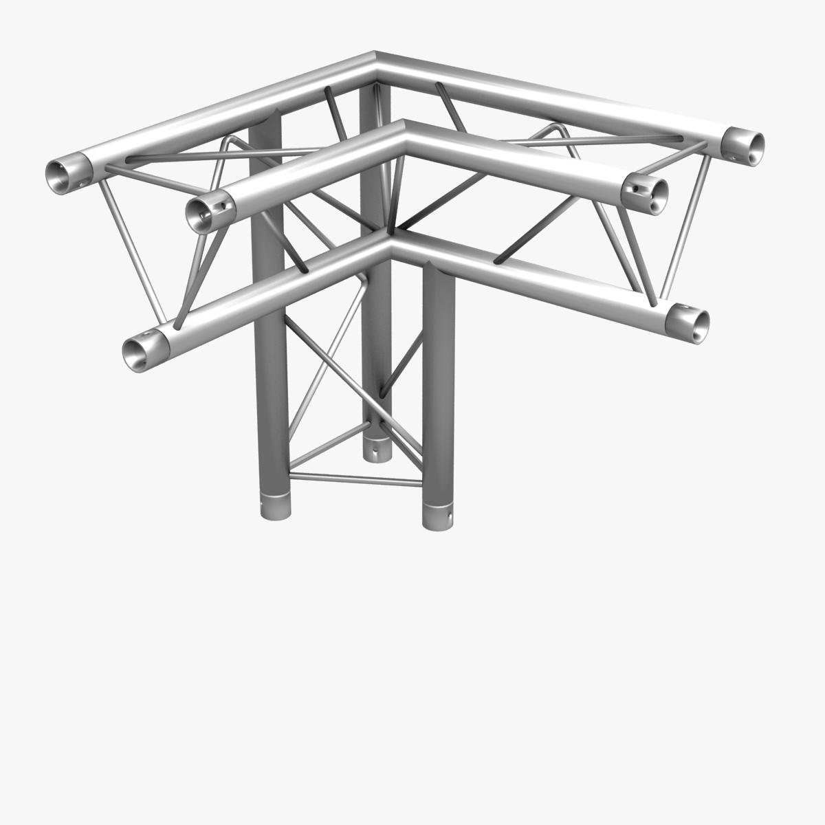 triangular trusses (collection 55 modular pieces) 3d model 3ds max dxf fbx c4d dae texture obj 216264