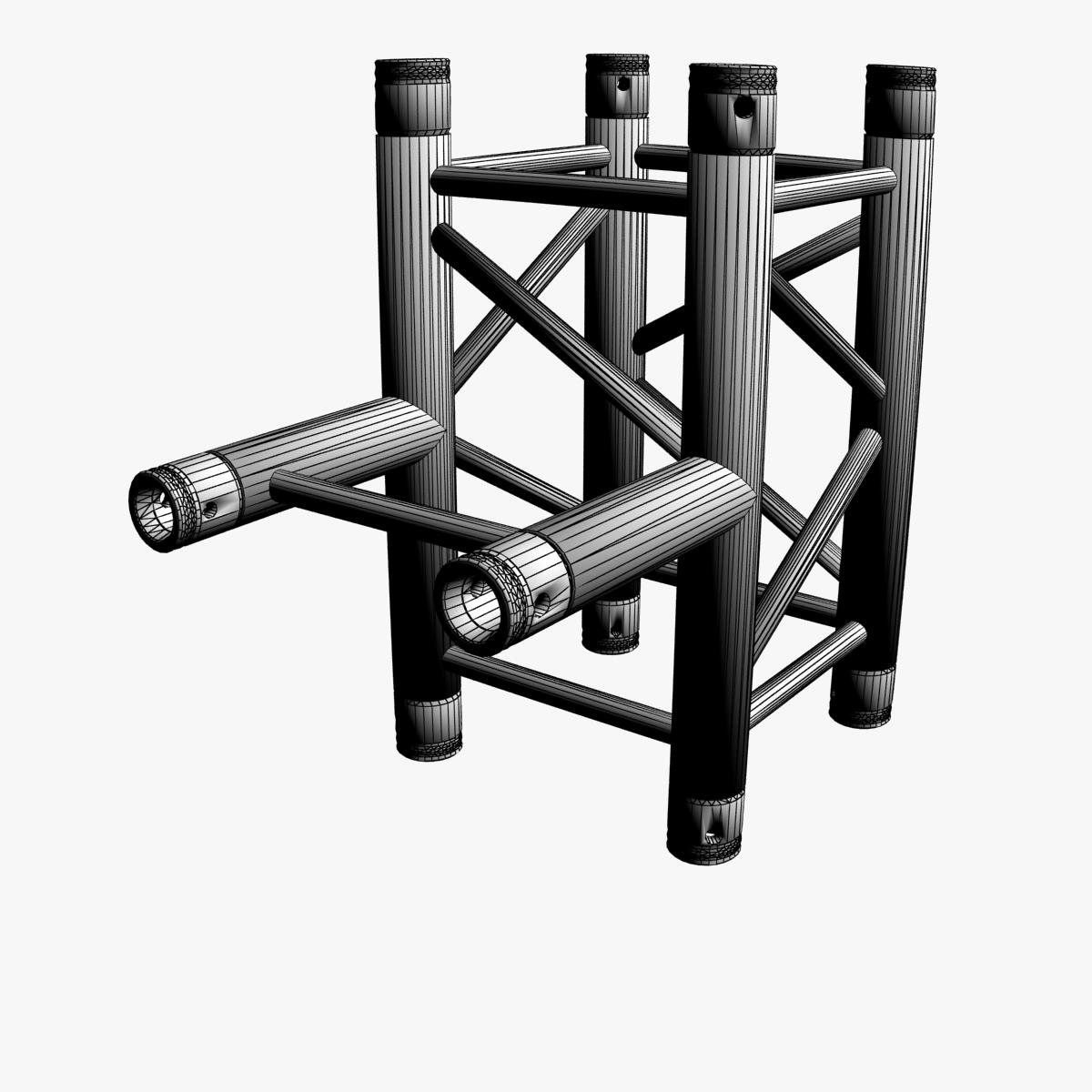 square truss standard (collection 24 modular) 3d model 3ds max dxf fbx c4d dae  texture obj 216345