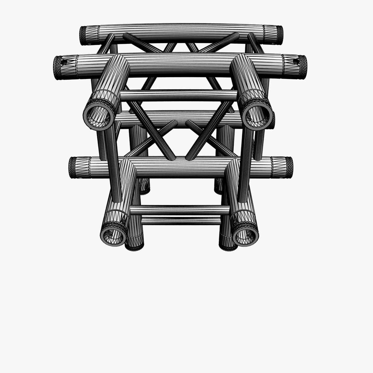 square truss standard (collection 24 modular) 3d model 3ds max dxf fbx c4d dae  texture obj 216347