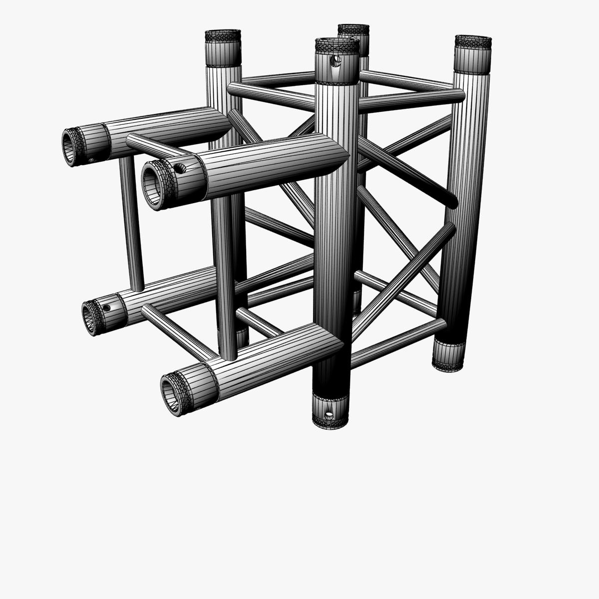square truss standard (collection 24 modular) 3d model 3ds max dxf fbx c4d dae  texture obj 216349