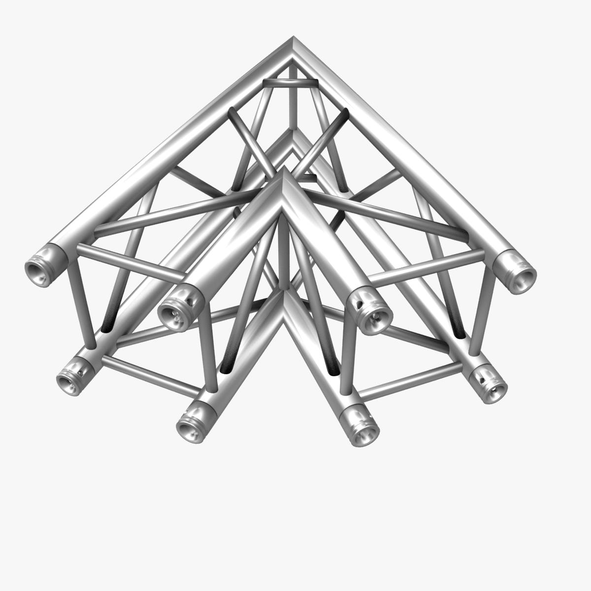 square truss standard (collection 24 modular) 3d model 3ds max dxf fbx c4d dae  texture obj 216354