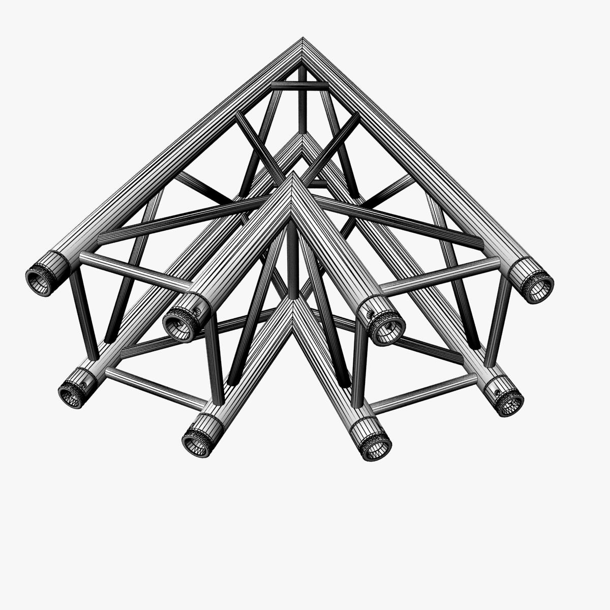 square truss standard (collection 24 modular) 3d model 3ds max dxf fbx c4d dae  texture obj 216355