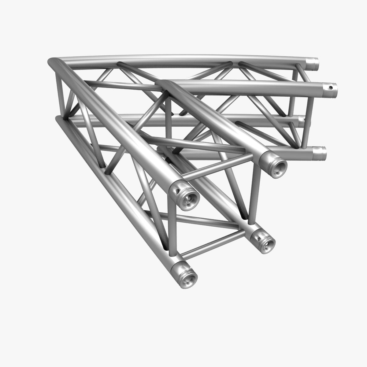 square truss standard (collection 24 modular) 3d model 3ds max dxf fbx c4d dae  texture obj 216356
