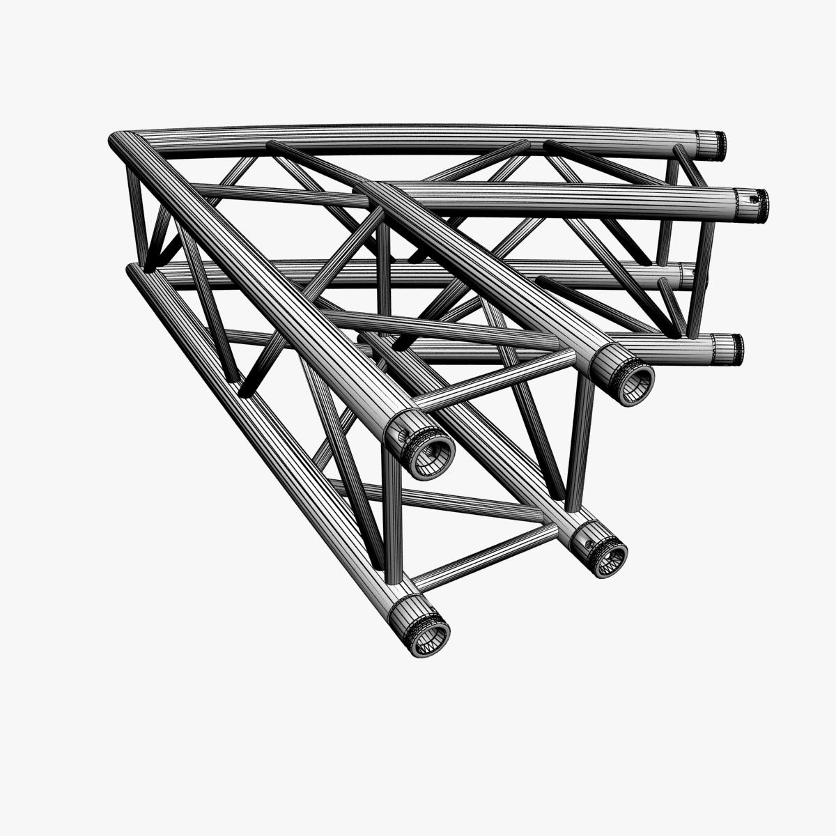 square truss standard (collection 24 modular) 3d model 3ds max dxf fbx c4d dae  texture obj 216357