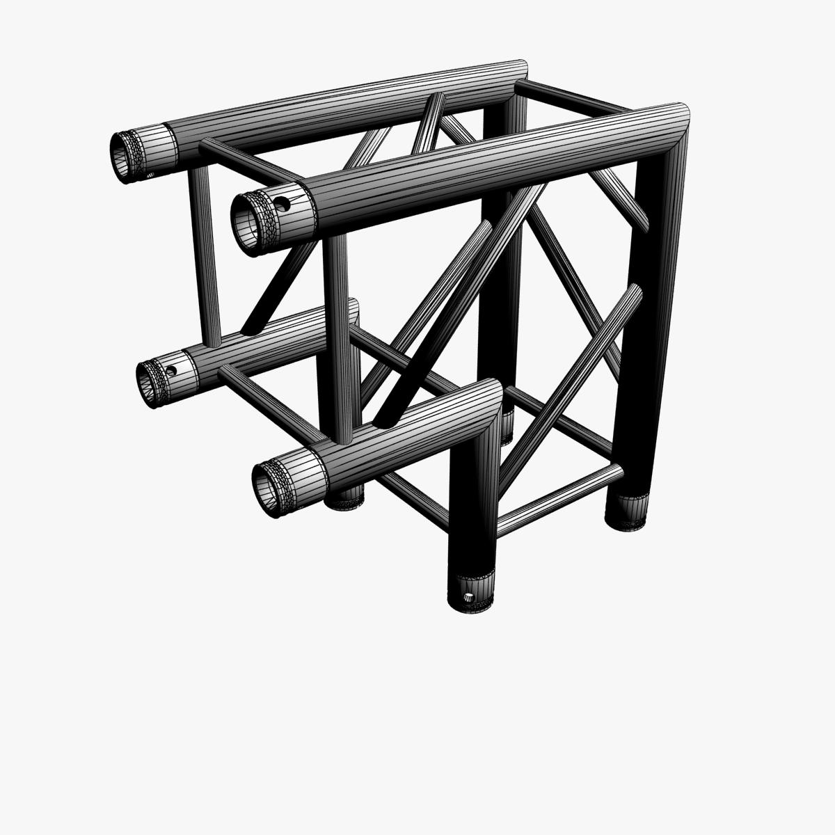 Square truss standard collection 24 modular 3d model for Buy truss