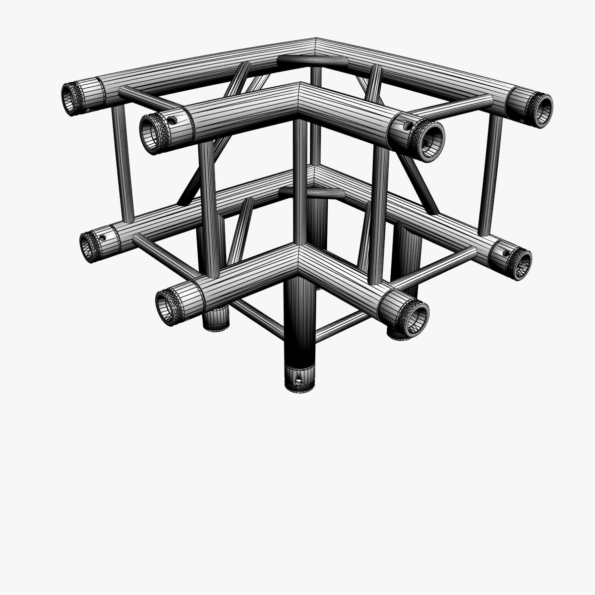square truss standard (collection 24 modular) 3d model 3ds max dxf fbx c4d dae  texture obj 216365