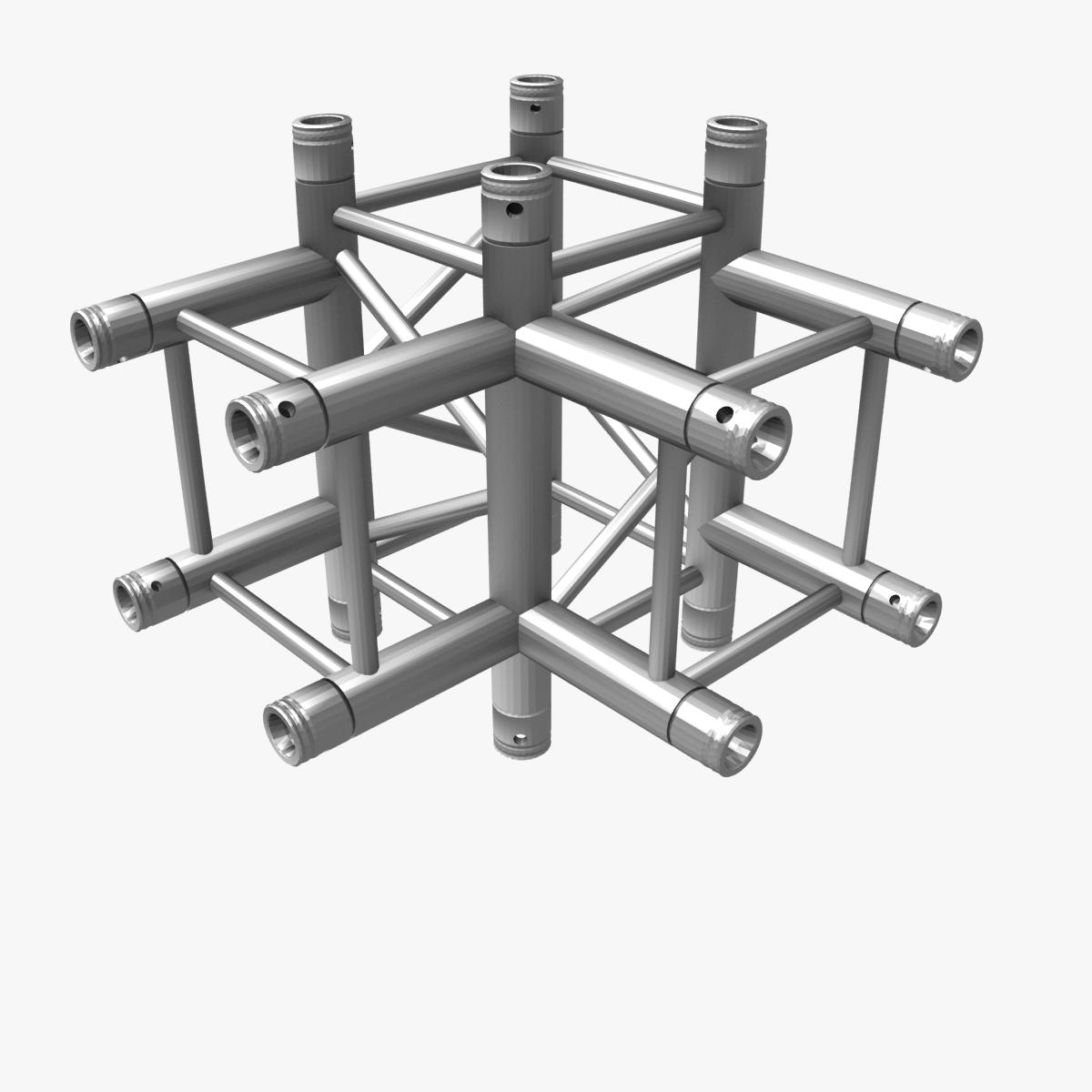 square truss standard (collection 24 modular) 3d model 3ds max dxf fbx c4d dae  texture obj 216366