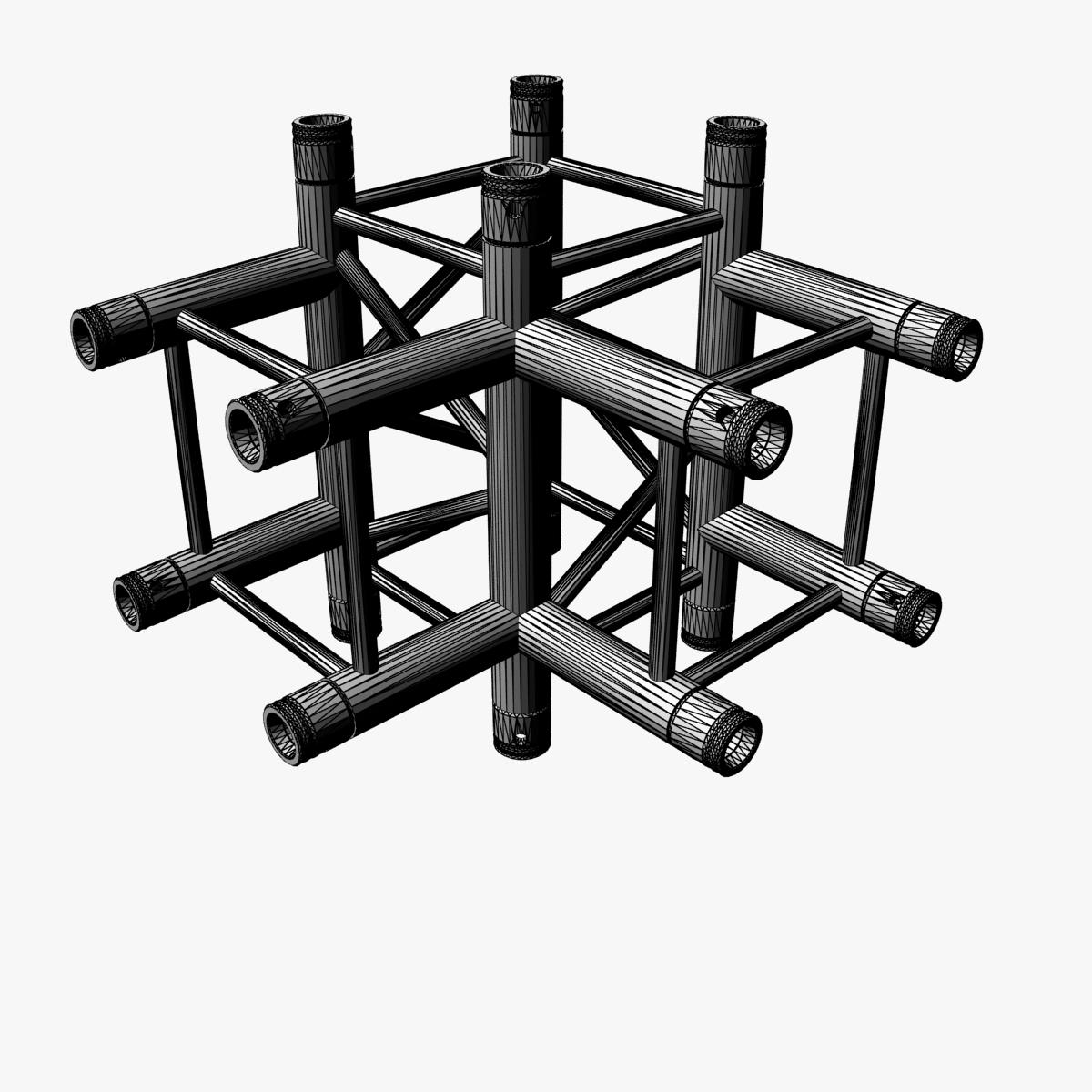square truss standard (collection 24 modular) 3d model 3ds max dxf fbx c4d dae  texture obj 216367