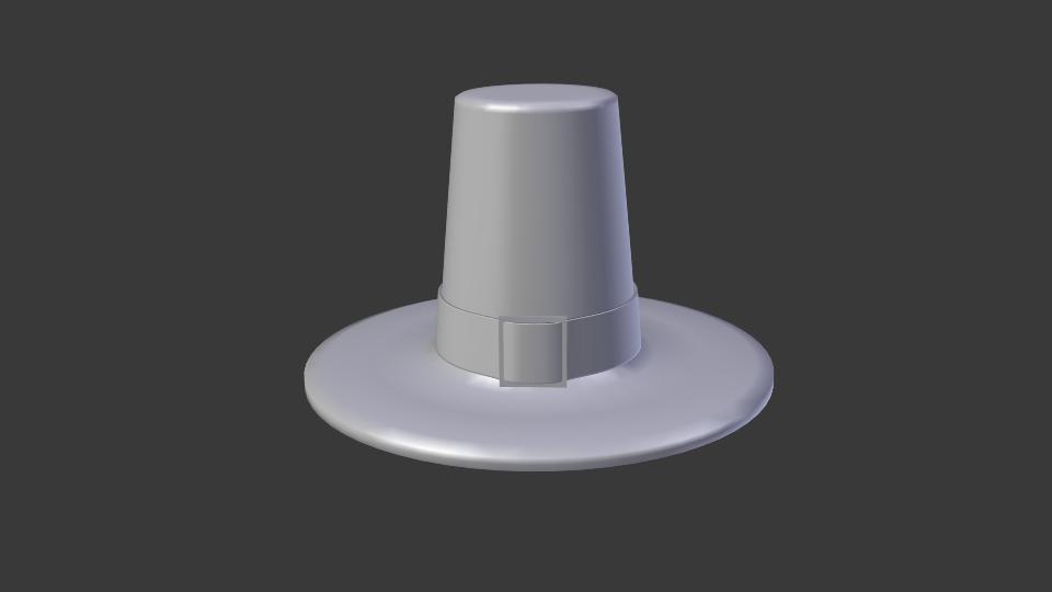 cepure 3d modelis maisījums 216680